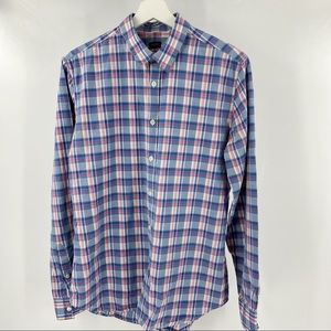 Paul Smith plaid button down shirt